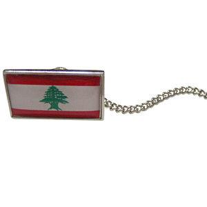 Lebanon Flag Tie Tack